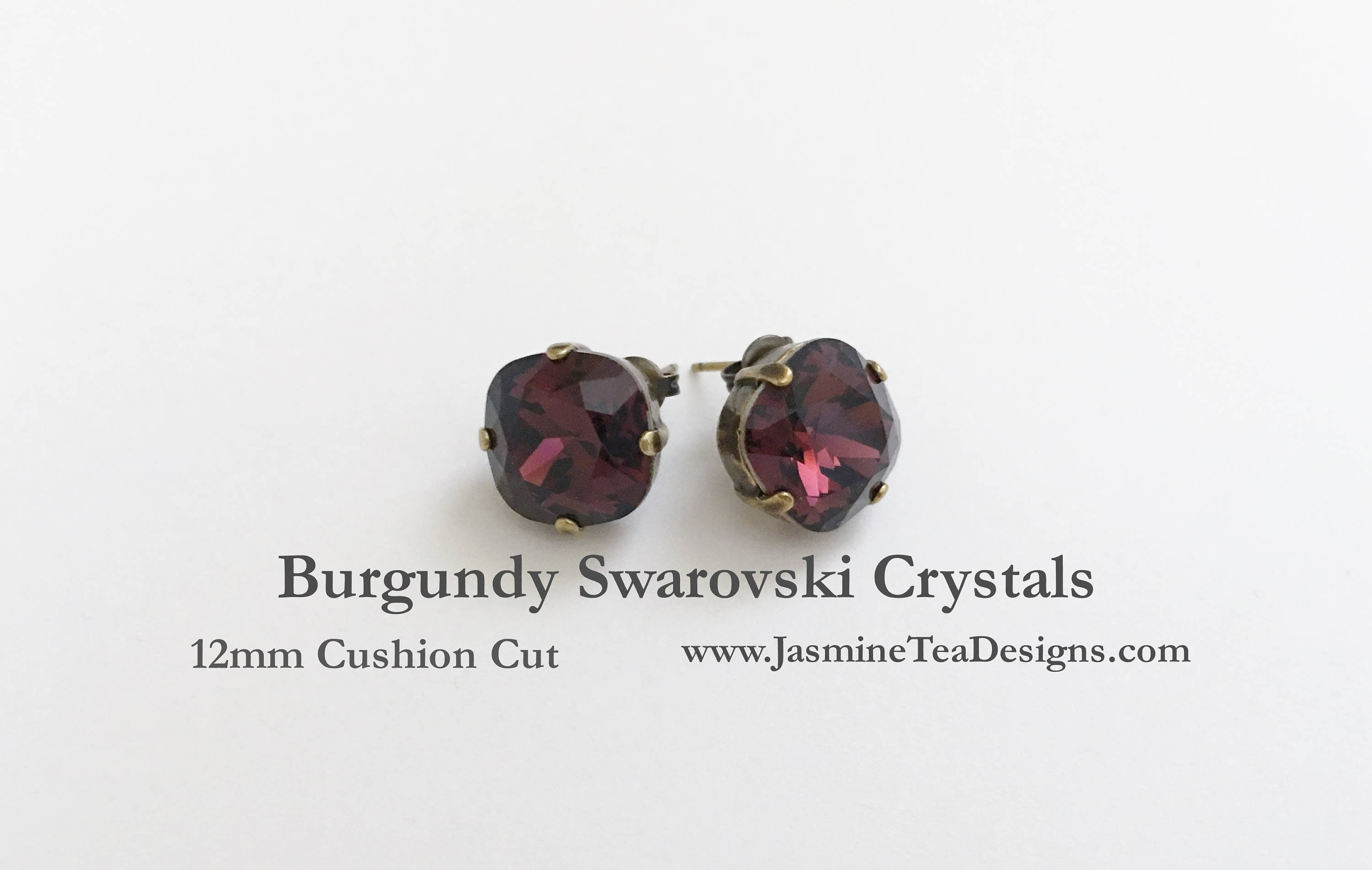 gold products earrings bohemian stud victorian top garnet antique