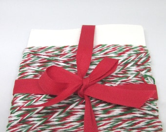 25 Yards of Holiday Cotton - Cotton Yarn - Christmas String