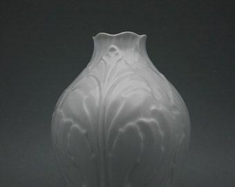 Vintage porcelain vase by Bareuther Waldsassen