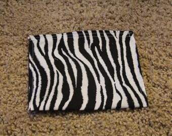 Reusable Sandwich Bag-Zebra