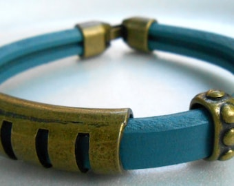Texas Turquoise Cuff Bracelet