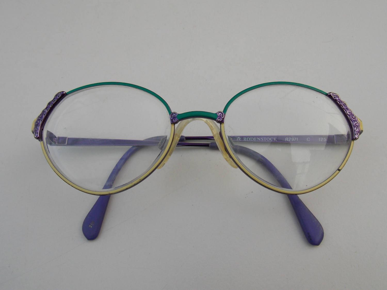 Kleine Gläser von Rodenstock Vintage-Brillen Rodenstock