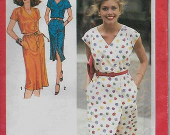 """Simplicity 9373     Misses """"Easy-Fitting""""  Dress   Size 10  Uncut"""