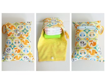 Woodland baby nappy diaper wallet