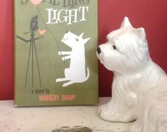 Something Light, Fab MCM Dust Jacket, 1960 Book, West Highland White Terrier