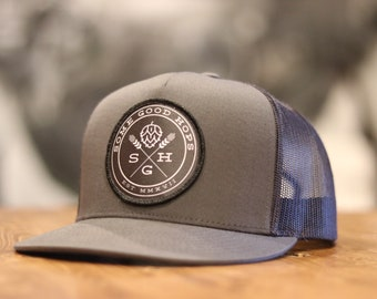 Some Good Hops Charcoal Grey Hat