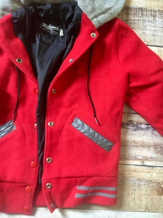 1990's CHE GUEVARA Rare Letterman Jacket tn8w5m