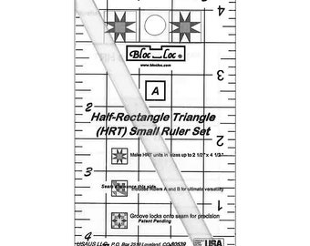 Bloc Loc - Half Rectangle Triangle Mini