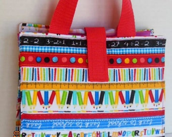 Kids Activity/Coloring/Reading Tote/Busy  Bag