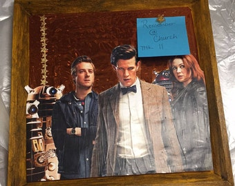Doctor Who - The 11th Doctor & The Ponds Pinboard