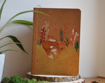 Hand illustrated notebook