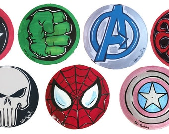 marvel red character symbol clipart library