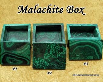 Malachite Box
