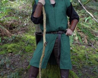 Custom Jerkin in Linen, Jacket