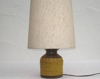 Vintage 70s J. Bitossi - Aldo Londi lamp table lamp