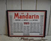 Vintage French Calendar S...