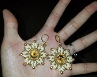 Geometric Star Cluster Earrings