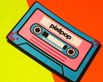 PixlPop Mixtape Matte Stickers
