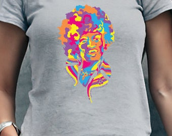 All is by my side - Jimi Hendrix Graphic Tee