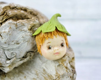 Leprechaun, shaped by hand in cold porcelain, model unique, crafts