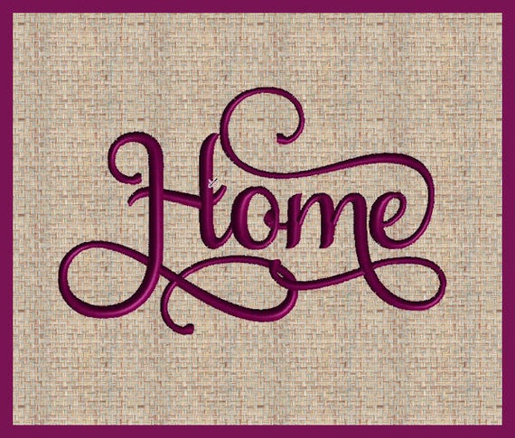 Home Machine Embroidery Design Word Home Embroidery Design State ...