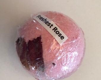 Freshest Rose Bath Bomb,Bath Cube, Bath Salts, Bath Oils, Bath Pearls, Bath Bomb, Bath Fizzie, Bath Products, Bath Fizzy