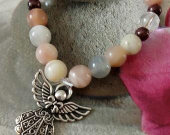 Crystal healing energy bracelet