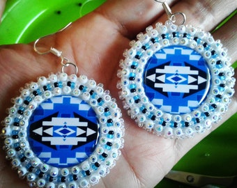 Native Design Earrings