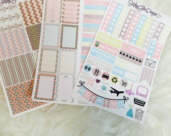 Tribal Chic Weekly Sticker Kit | Erin Condren and Plum Paper Planner