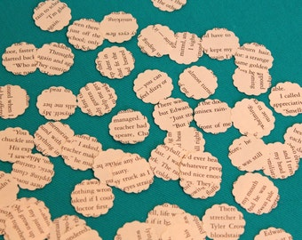 500 Hand Punched 1 inch Twilight scalloped confetti