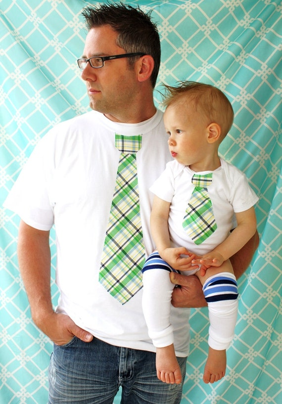 Items Similar To Baby Boy Set Of Tie Shirt For Daddy And