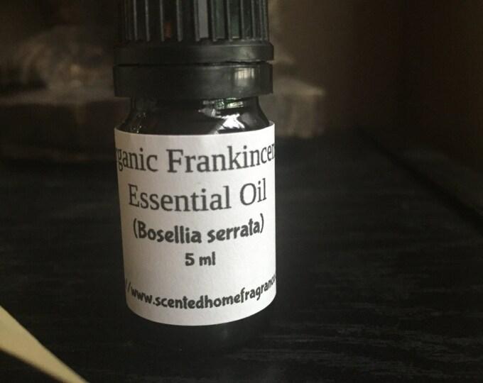 Organic Frankincense Essential Oil, Frankincense Boswellia serrata, Pure Essential Oil, Certified Organic, Buy Essential Oils,