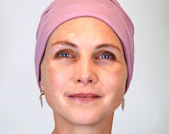 Hat pink for ladies who lose their hair because of chemotherapy, trichotillomania, alopecia or other hair problems.