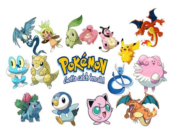 Pokemon Go Image, Pokemon Go Cutout, Pokemon Go Template, Pokemon ...