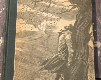 Vintage 1943 Wuthering Heights by Emily Brontë with Fritz Eichenberg Engravings