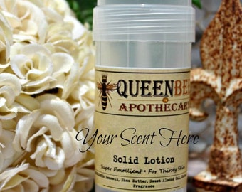 CHOOSE • YOUR • SCENT    Solid Lotion Tube • Natural Handmade {Scents G-P}