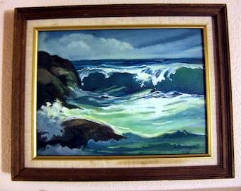 Two mod seascapes B Montague