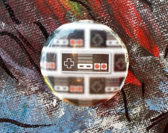 """Nintendo Controller 1.25"""" Pinback Button"""