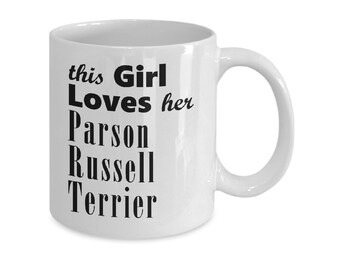 Parson Russell Terrier - 11oz/15oz Mug - Dog Gifts For Women - Gifts for Dog Lovers - Coffee Mugs - Tea Mugs -  Gift For Her