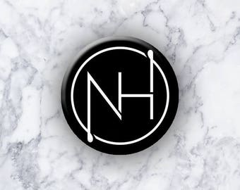 "NIALL HORAN - 1.25"" Pinback Button/Badge - NH Logo"