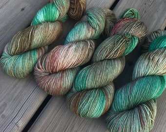 Woodland Dreams - Squishy Sock - Superwash Merino & Nylon
