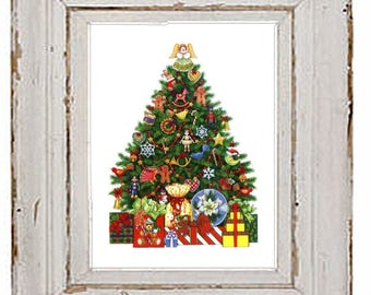 PDF cross stitch:  christmas winter