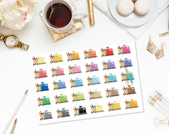 Get Groceries    Item Planner Stickers, Shopping Stickers, Grocery Planner Stickers, Planner Decor, Decorating Stickers, Functional Stickers