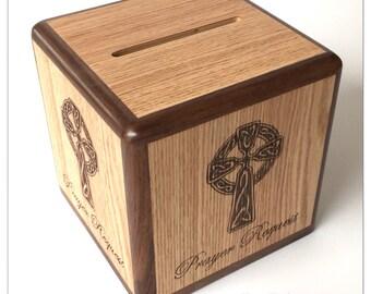 Celtic cross prayer box