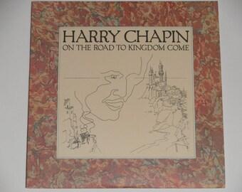 Harry Chapin - auf dem Weg zum Königreich kommen mit signiertes Booklet - Folk-Rock - Elektra Records 1976 - Jahrgang Vinyl LP Schallplatte