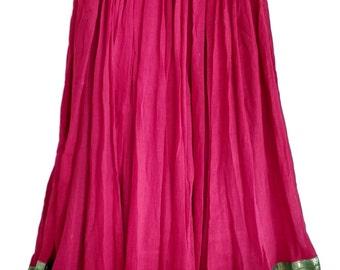 Red mul mul skirt