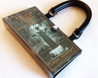 Midnight in the Garden of Good and Evil Recycled Book Purse - Banned Book Purse