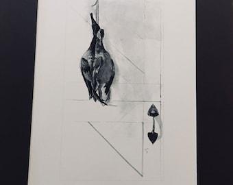 Andrew Wyeth Vintage Art Print