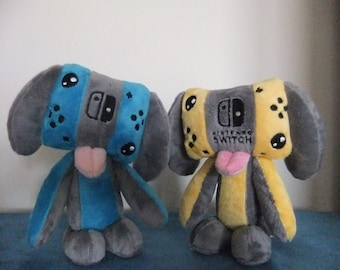 Switch plush-Switch Dog-Nintendo Switch-nintendo 3DS-New Nintendo
