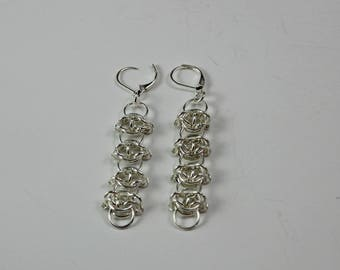 Celtic Visions Chainmaille Earrings